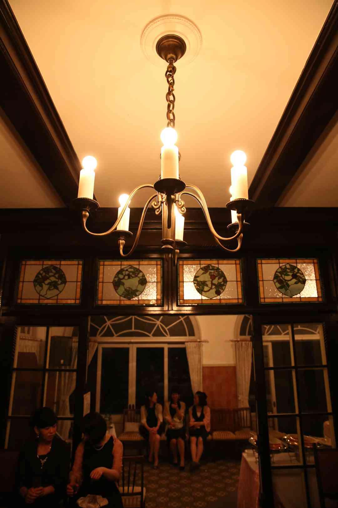 夜のウェイティングルーム
