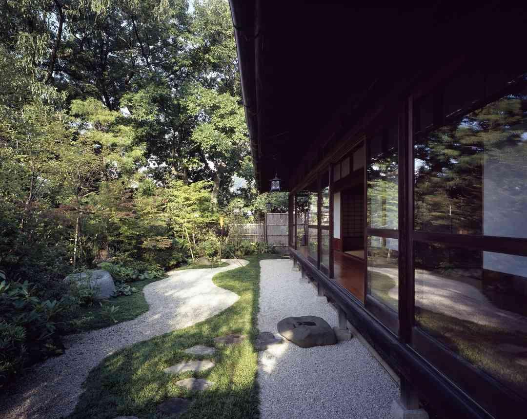 貴賓室「松風の間」庭園
