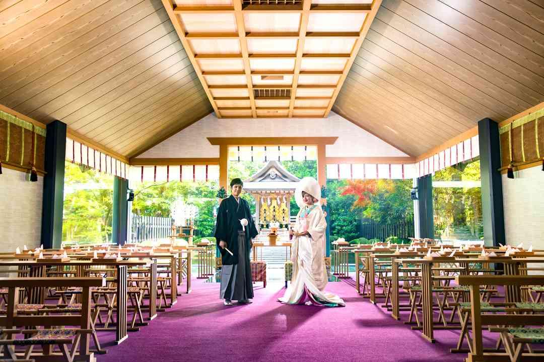 石川県内唯一の本格的神殿「白山殿」