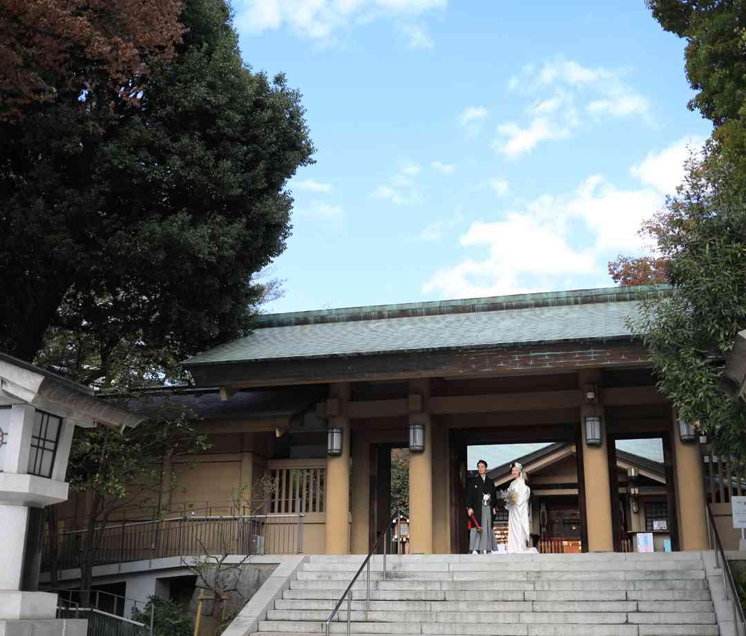 東郷神社参門