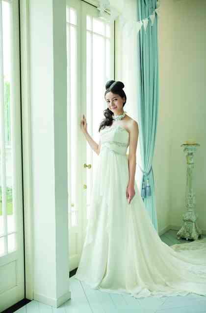 妊婦の体型は実はウェディングドレスがとても似合う マタニティ婚