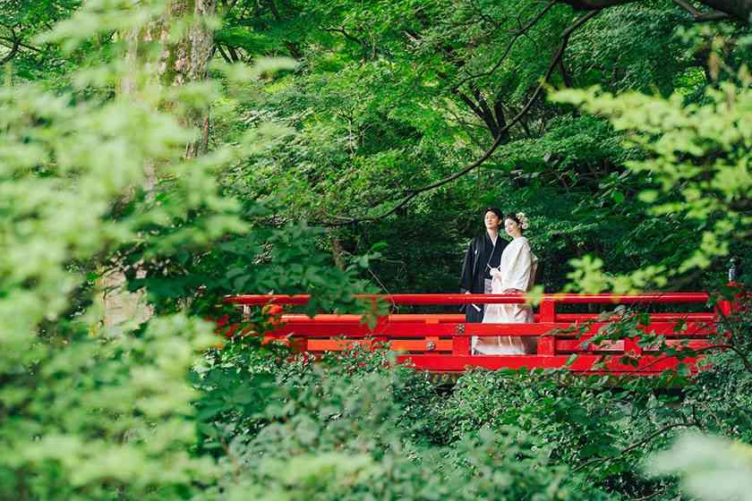 椿山荘赤橋