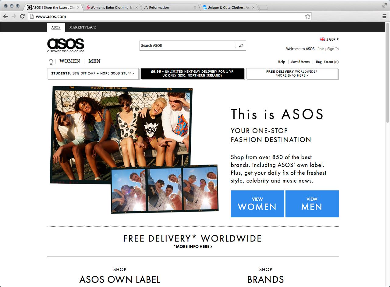bfc61582f6e イギリス発の通販サイト「ASOS」は、手頃な価格でデザイン性の高いアイテムが手に入るとセレブやキャサリン妃も愛用しているサイト。この3月から満を持して取り扱いを  ...