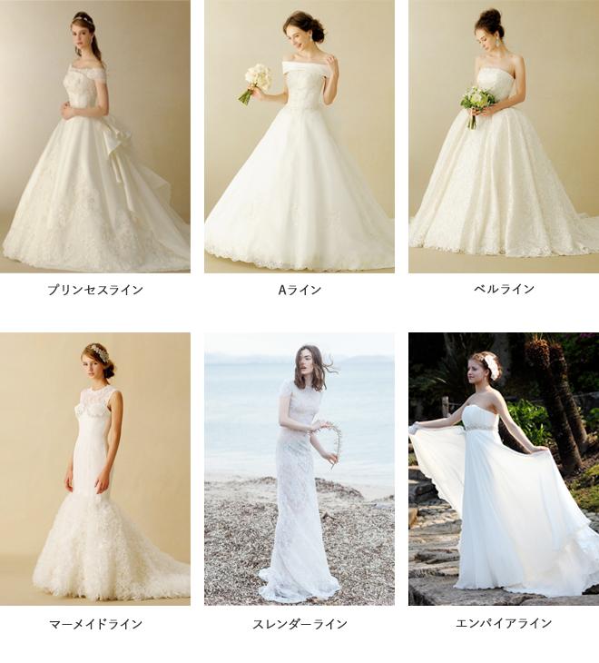 ドレスの種類