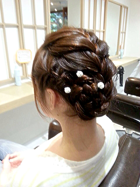 着物 髪型 結婚式 着物 髪型 編み込み : pridal.jp