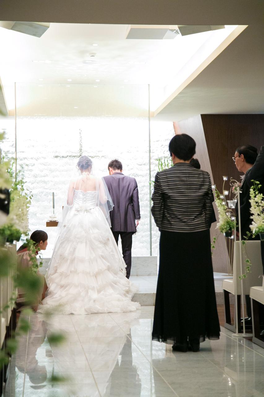 結婚式 母親 洋装